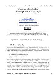 Conception Orientée Objet Henocque Esil Info 2008 - Laurent ...
