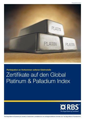 Platin & Palladium - Infoboard