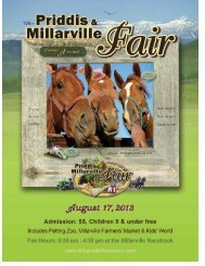 Entry Deadline: August 1, 2013 - Millarville Racing and Agricultural ...