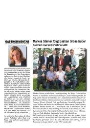 Markus Steiner folgt Bastian Grösslhuber - Ring Freiheitlicher ...