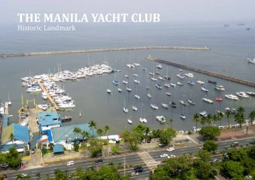 Commodore's Report continued - The Manila Yacht Club