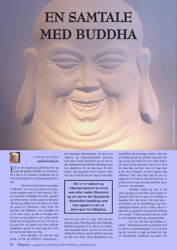 EN SAMTALE MED BUDDHA - Ildsjelen