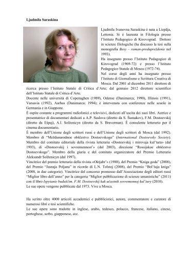 clicca qui - Associazione Conoscere Eurasia