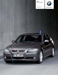 Freude am Fahren BMW Einsatzfahrzeuge 3er Limousine 3er Touring