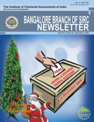 Blore Br_Dec_09_Newsletter.pmd - Bangalore Branch of SIRC