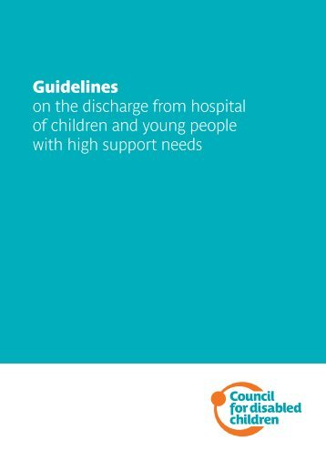 Download - The Council for Disabled Children