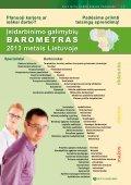 2013 metų darbo rinkos prognozė - Lietuvos darbo birža - Page 7