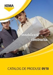Catalog de produse 09/10 - Kema.si
