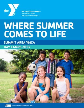 sPeCiAltY CAmPs - The Summit Area YMCA