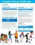 sPeCiAltY CAmPs - The Summit Area YMCA - Page 6