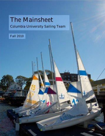 The Mainsheet - Columbia University Sailing Team