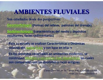 AMBIENTES FLUVIALES