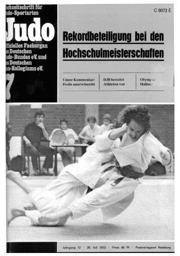 DJB-Magazin Nr. 7 - Chronik des deutschen Karateverbandes