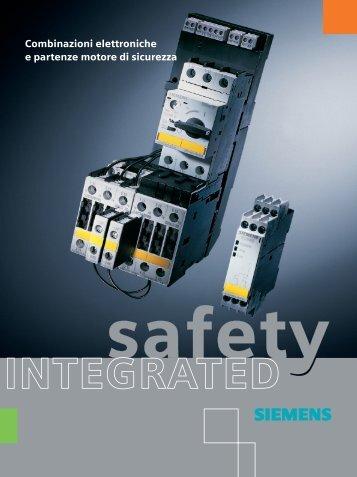 Combinazioni elettroniche e partenze motore di sicurezza - Siemens