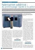 Fabrication additive : - Micronora - Page 4