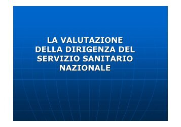 Slide Martelli - Policlinico di Modena