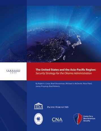 The United States and the Asia-Pacific Region - Center for Strategic ...