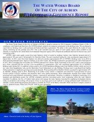 2012 Consumer Confidence Report - City of Auburn