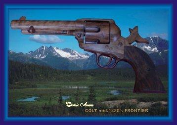 A3 BOOK BLUE NO4 COLT Frontier A3 - Classic Arms