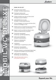 MOBIL-WC DELUXE - Blue Diamond Products