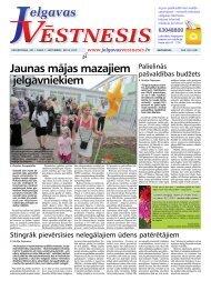 2011.gada 1.septembris Nr.34(219) - Jelgavas Vēstnesis