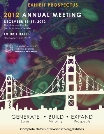 2012 annual mEEting - American Society for Cell Biology