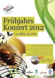 Frühjahrs Konzert 2012 - Gmunden