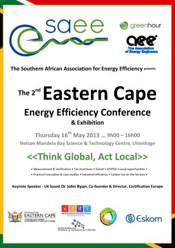 Think Global, Act Local - Innovationeasterncape.co.za