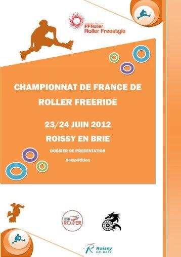 Dossier de présentation du championnat de france ... - USR Roller