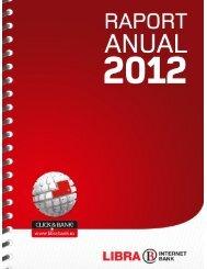 Raport anual 2012 - Libra Bank
