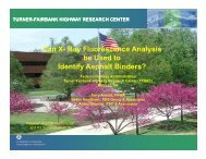 Can X - Petersen Asphalt Research Conference