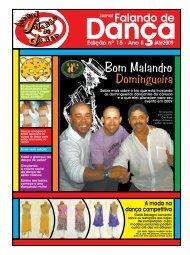 Ed. 015 - Agenda da Dança de Salão Brasileira