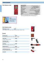 Sisteme de pozitionare PD 22 Telemetru cu laser Accesorii PD 22 ...