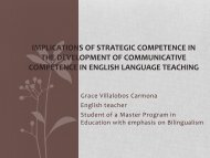 implication of strategic competence in the development