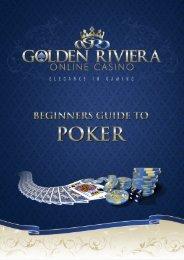 beginners guide to poker - Golden Riviera Online Casino