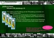 Jubiläums-Pokal 100 Jahre VfL Jesteburg e. V.