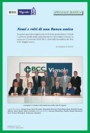 Nomi e volti di una Banca amica - BCC Vignole e Montagna Pistoiese