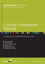 Cultural Competence Programmes - Linguarama