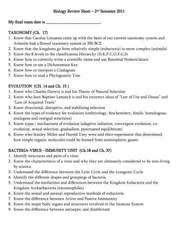 2nd semester senior final exam schedule rh yumpu com Study Guide Exam Outlines Nce Exam Study Guide