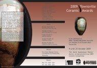 2009 Townsville Ceramic Awards - Australian Design Unit