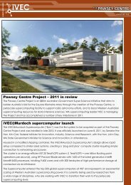 THE PAWSEY CENTRE - iVEC