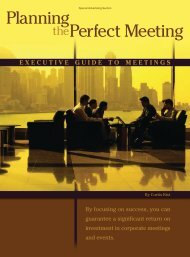 Planning Perfect Meeting - Forbes Special Sections