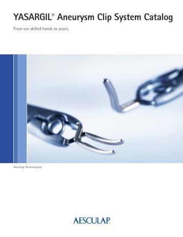 YASARGIL Aneurysm Clip System Brochure - Aesculap