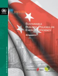 country report on sustainable building policies on ... - BCA Academy