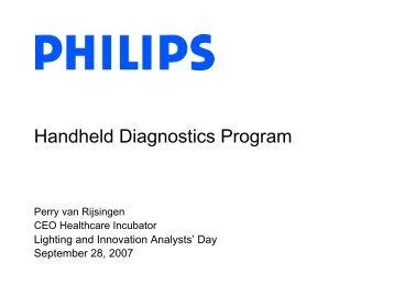 Handheld Diagnostics Program