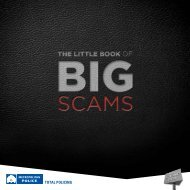 The Little Book of Big Scams - Metropolitan Police