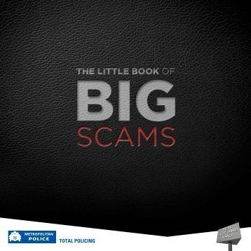The Little Book of Big Scams - Metropolitan Police