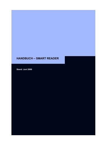 Handbuch SmartReader - SimonsVoss technologies