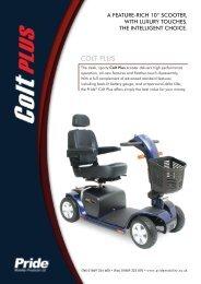 COLT PLUS - Value Mobility Scooters