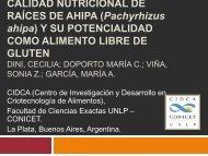 CALIDAD NUTRICIONAL DE RAÍCES DE AHIPA (Pachyrhizus ...